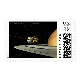 Farewell Cassini  - Postage