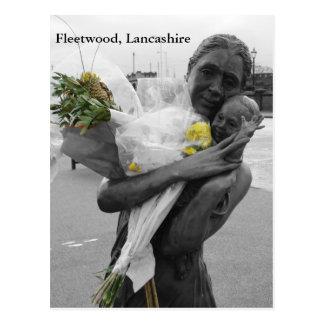 """Farewell"", Fleetwood Postcard"