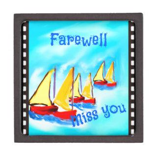 Farewell Jewelry Box