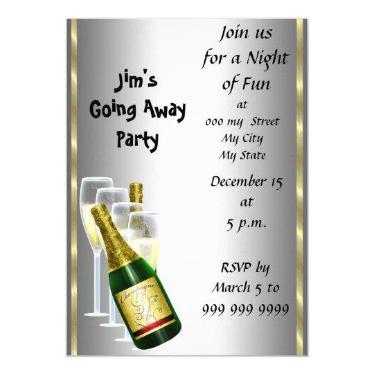 Farewell party invitation card zazzle farewell party invitation card stopboris Choice Image