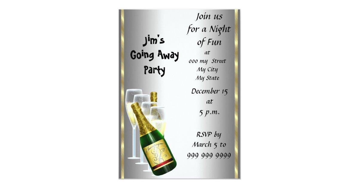 Farewell Party Invitations & Announcements   Zazzle
