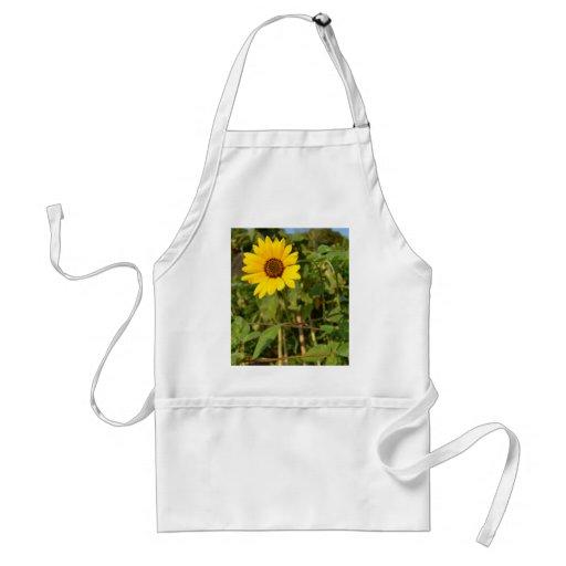 Farewell Summer-Sunflower Adult Apron