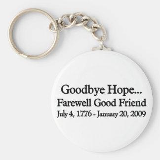 Farewell to hop key chain