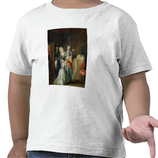 Farewell to Louis XVI by his Family Shirt