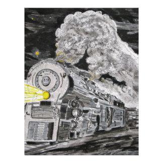 Farewell To Steam Letterhead