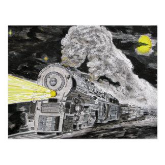 Farewell To Steam Postcard