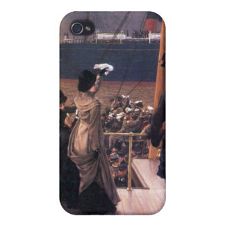 Farewell to the Mersey by James Tissot Case For iPhone 4
