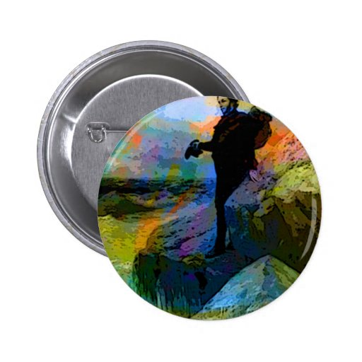 FAREWELL TO THE SEA 2 INCH ROUND BUTTON