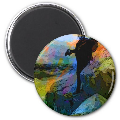 FAREWELL TO THE SEA 2 INCH ROUND MAGNET