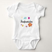FarFrom Usen Logo Baby Bodysuit