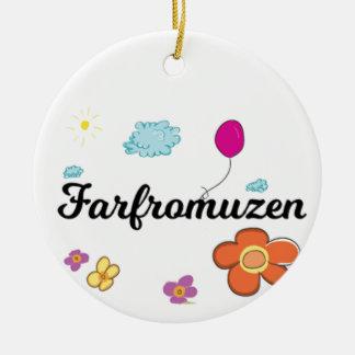 FarFrom Usen Logo Ceramic Ornament