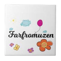 FarFrom Usen Logo Ceramic Tile