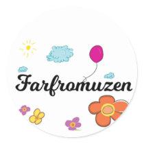 FarFrom Usen Logo Classic Round Sticker
