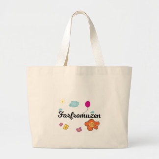 FarFrom Usen Logo Large Tote Bag