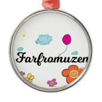 FarFrom Usen Logo Metal Ornament