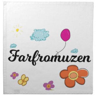 FarFrom Usen Logo Napkin