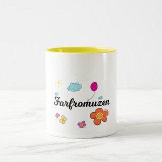 FarFrom Usen Logo Two-Tone Coffee Mug