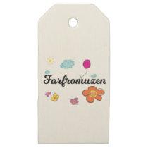 FarFrom Usen Logo Wooden Gift Tags
