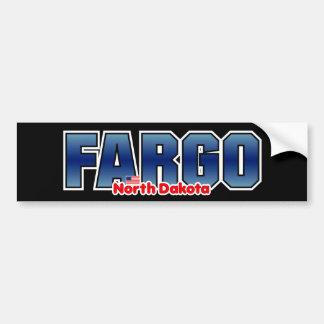 Fargo Bumper Car Bumper Sticker
