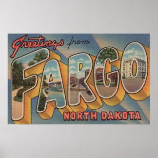 Fargo, Dakota del Norte - escenas grandes de la le Impresiones