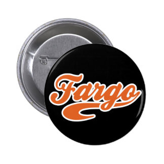 Fargo, Dakota del Norte Pin Redondo De 2 Pulgadas