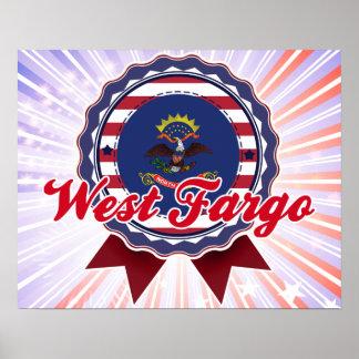 Fargo del oeste, ND Poster
