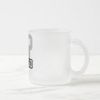 Fargo Frosted Glass Coffee Mug