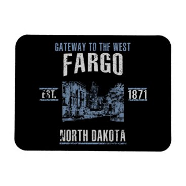 USA Themed Fargo Magnet