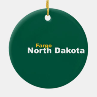 Fargo, North Dakota Ornament