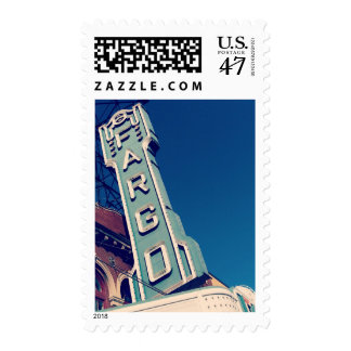 Fargo North Dakota Postage Stamp