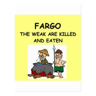 FARGO POST CARD