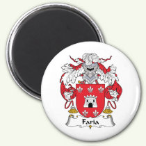 Faria Family Crest Magnet