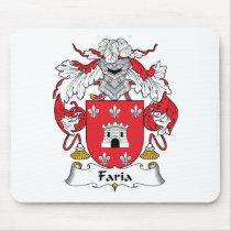 Faria Family Crest Mousepad