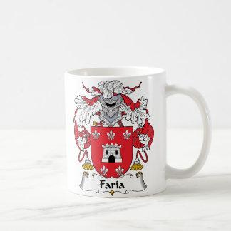 Faria Family Crest Mug