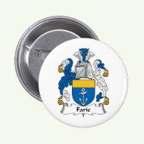 Farie Family Crest Button