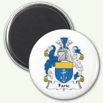 Farie Family Crest Magnet