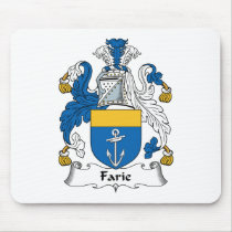Farie Family Crest Mousepad