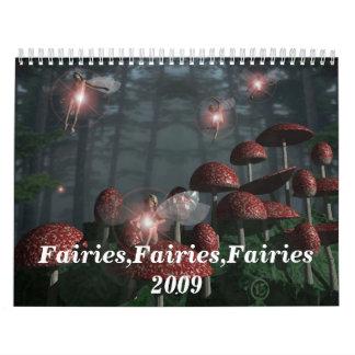 Faries,Fairies,Faries 2009 Calendar