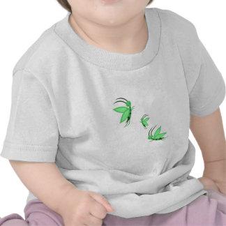 Faries verde camisetas
