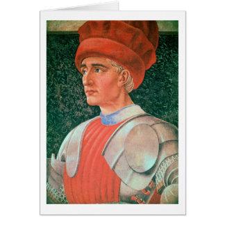 Farinata degli Uberti, detail of his bust, from th Card