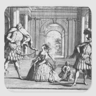 Farinelli, Cuzzoni and Senesino in Handel's Stickers
