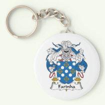 Farinha Family Crest Keychain