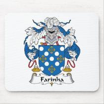 Farinha Family Crest Mousepad