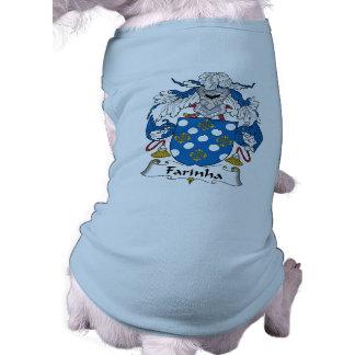 Farinha Family Crest Pet Clothes