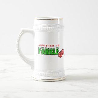 FARKLE - addicted Beer Stein