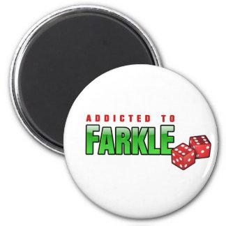 FARKLE - addicted Fridge Magnets