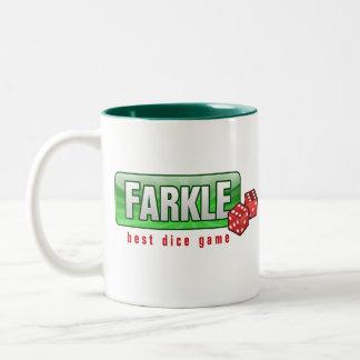 FARKLE - el mejor juego de los dados Taza De Café
