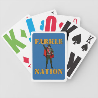 Farkle Nation Bicycle Playing Cards