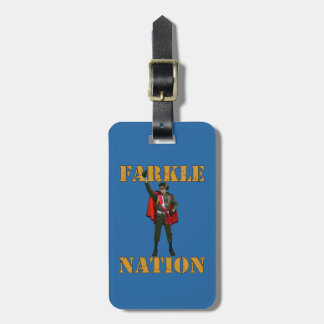 Farkle Nation Luggage Tag