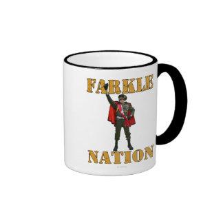 Farkle Nation Ringer Mug